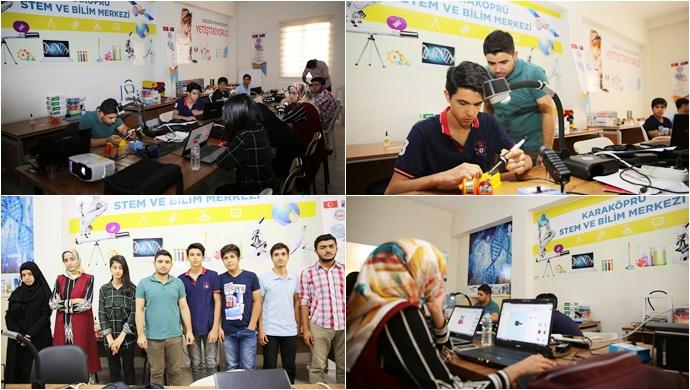 Karaköprü'de Gençler Bilimle Buluştu
