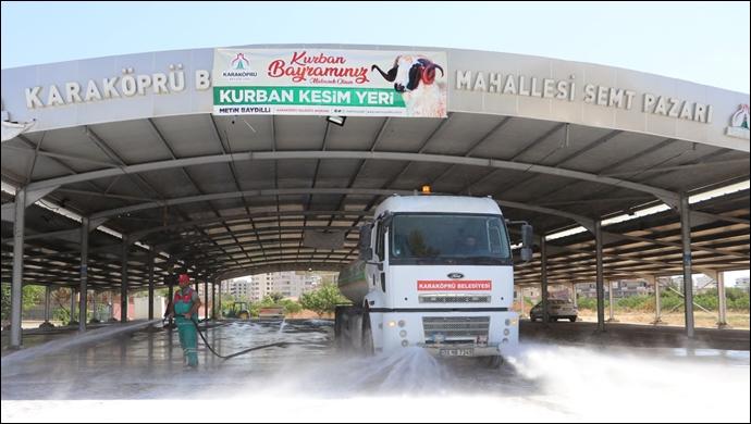 Karaköprü'de Kurban Bayramı Hazırlıkları Sürüyor-(VİDEO)