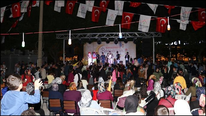 Karaköprü'de Ramazan Etkinlikleri Eğlenceli Geçiyor-(Videolu)