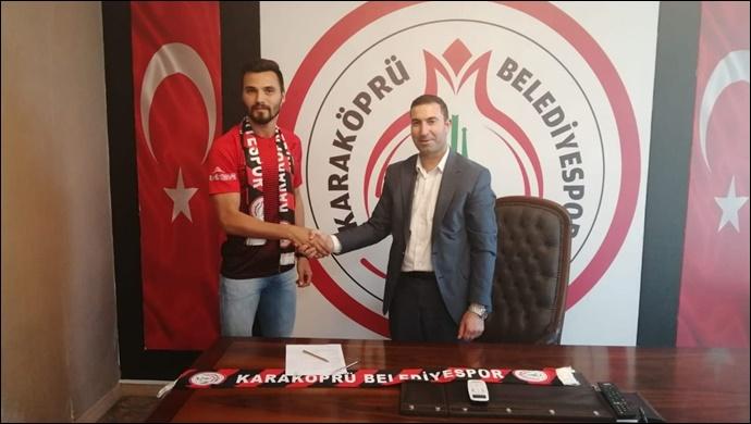 Karaköprü'de transfer atağı devam ediyor: Doğacan Diker ile sözleşme imzalandı