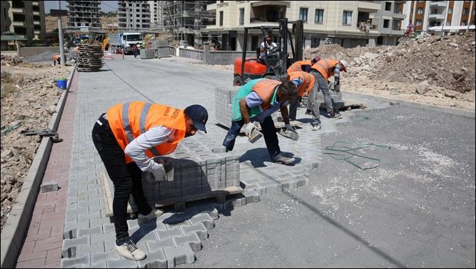 Karaköprü'de Yeni Yollar Hizmete Hazırlanıyor-(VİDEO)