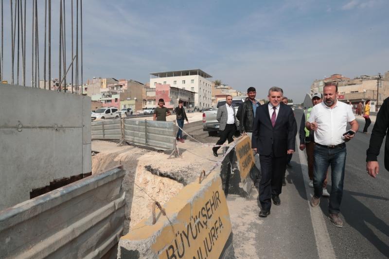 Karakoyun Köprülü Kavşağı'ndaki Çalışmalar Sürüyor-(VİDEOLU)