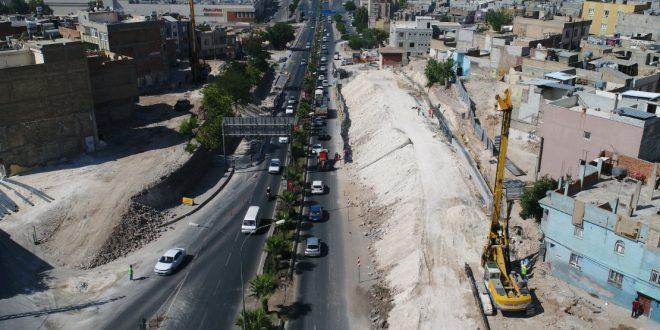 Karakoyunlu Köprülü Kavşakta Çalışmalar Hızlandı