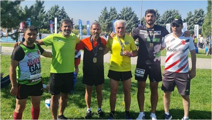 Kasaptaşı Gençleri, Kayseri Maratonunda Urfa'yı temsil ettiler-(VİDEO)