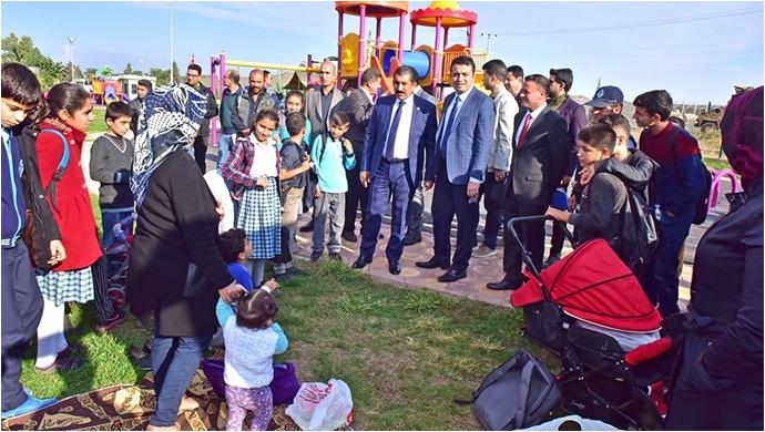 Kaymakam Keklik'ten Başkan Atilla'ya Hizmet Teşekkürü