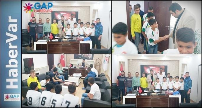 Kaymakam Sinanoğlu Suruç Gençlik Sporu Makamında Kabul Etti.