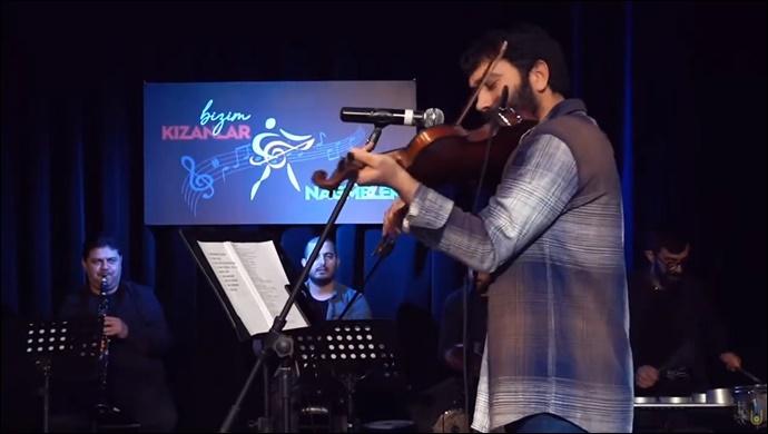 Kemancı Ahmet'ten müthiş performans