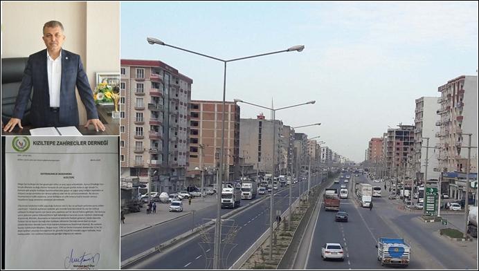Kızıltepe Zahireciler Derneğinden Çevre Yolu Atağı