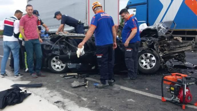 Konya yolunda kaza: Araç sürücüsü yaşamını yitirdi