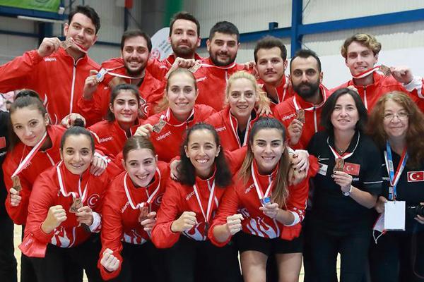 Korfbol Milli Takımı, Avrupa Şampiyonası'nı üçüncü tamamlayarak büyük bir başarıya imza attı