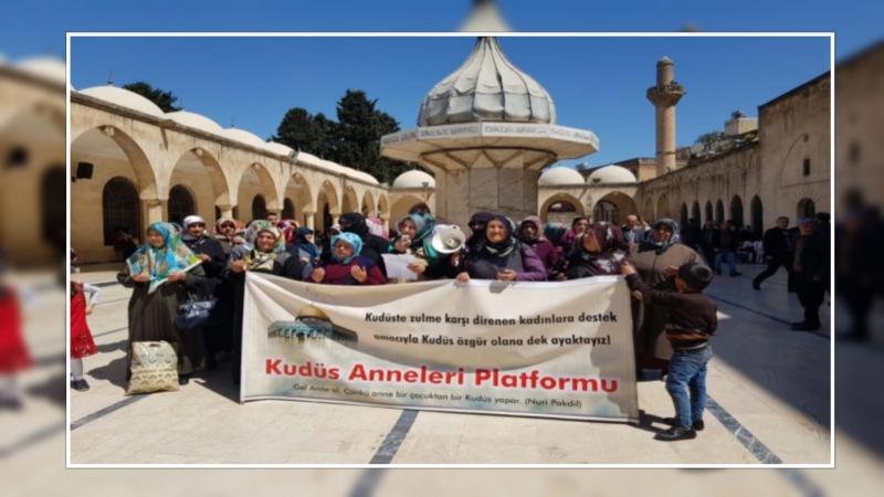 Kudüs Anneleri Eylemlerini Sürdürüyor