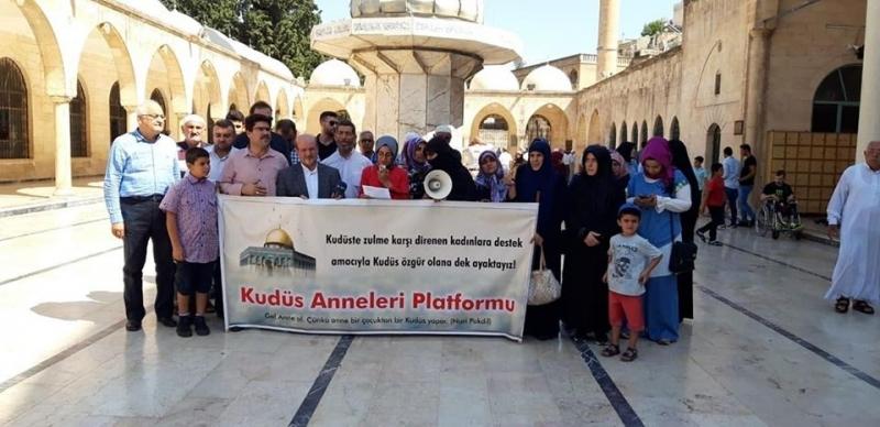 Kudüs Anneleri Platformu yine seslerini haykırdı