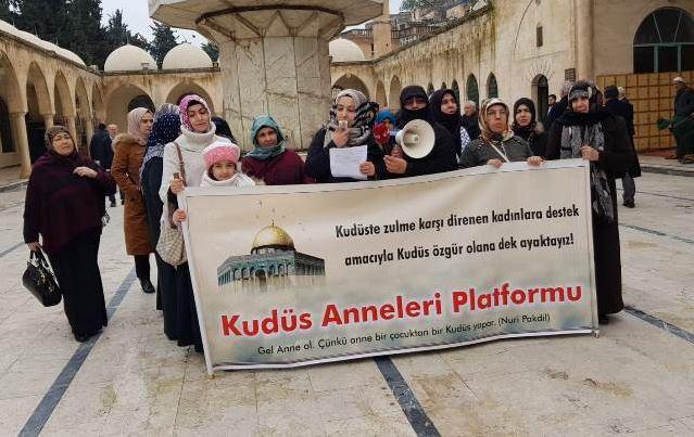 Kudüs Anneleri Platformu: Kudüs'ü unutmak ihanettir