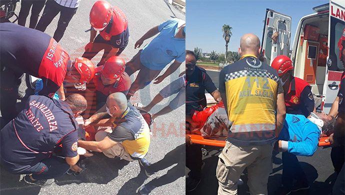 Kuyubaşı'nda motosiklet kazası: 1 yaralı var!