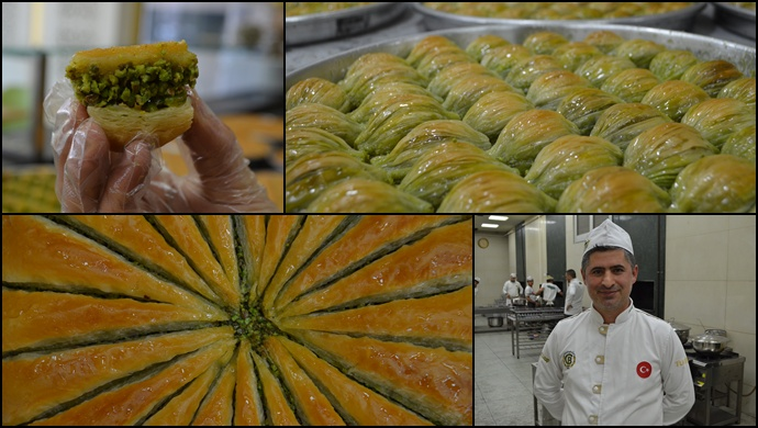 Malzeme ve ustalığın birleşimi: Gaziantep Baklavası
