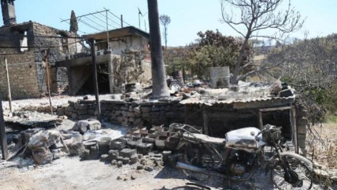 Manavgat'ta yangın 7'nci gününde devam ediyor