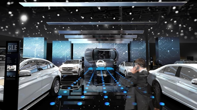 Mercedes-Benz, Paris Otomobil Fuarı'nda geleceğin teknolojisiyle yer alıyor