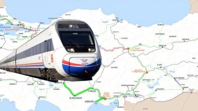 Mersin-Adana-Gaziantep'e Hızlı Tren Hattı ama Urfa'ya körüklü otobüs!