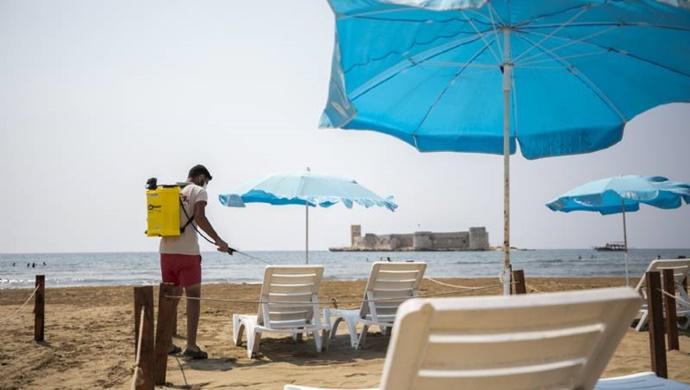 Mersin Büyükşehir, 9 Plajda Hazırlıklara Başladı