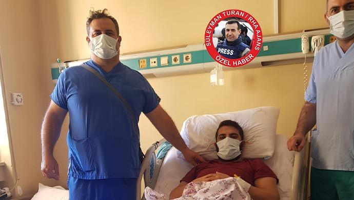 Mersin'de kaza yaptı: Aradığı şifayı Şanlıurfa'da buldu