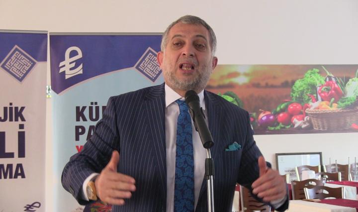 Metin Külünk Şanlıurfa'da konuştu