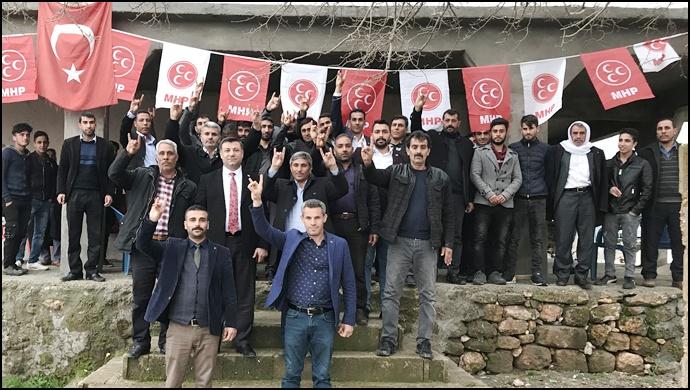 MHP Haliliye'de Seçim Çalışmaları Devam Ediyor