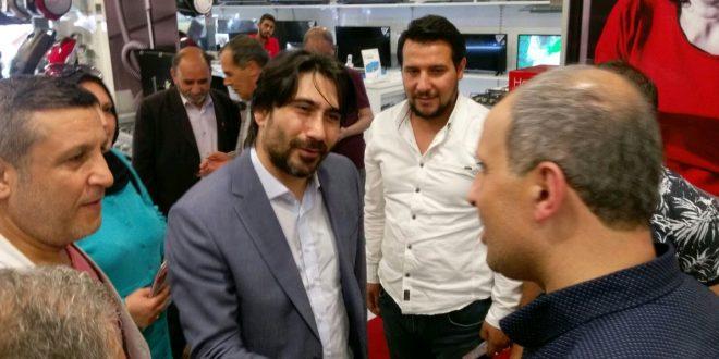 MHP Milletvekili Adayı Yılmaz, Esnafı Gezdi