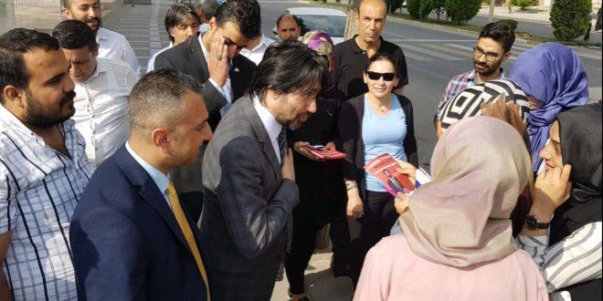 MHP'li Yılmaz Ziyaretlerini Sürdürüyor