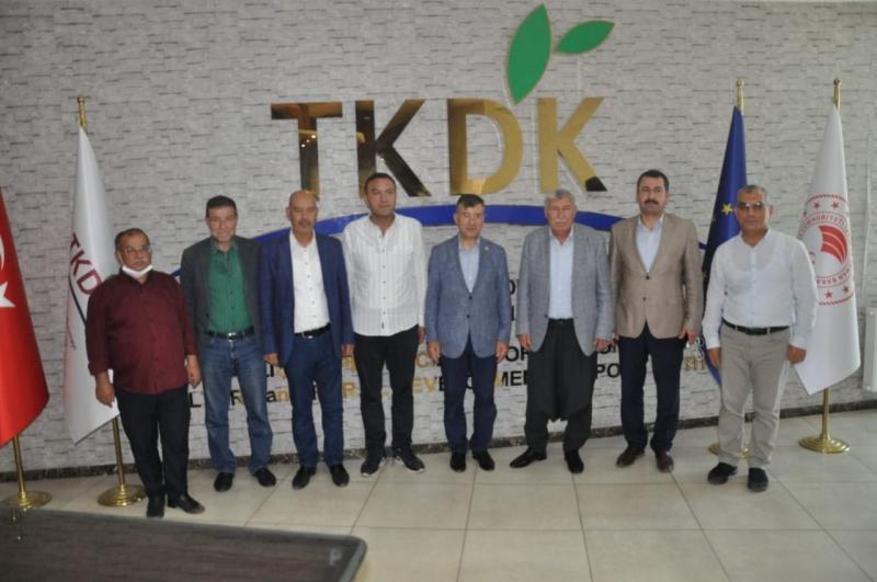 Milletvekili Mehmet Ali Cevheri'den TKDK'ya Ziyaret