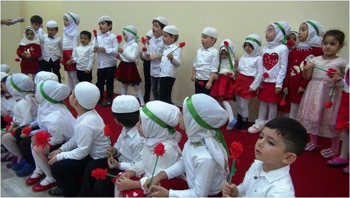 Minik Öğrencilerden Muhteşem Kutlu Doğum Etkinliği