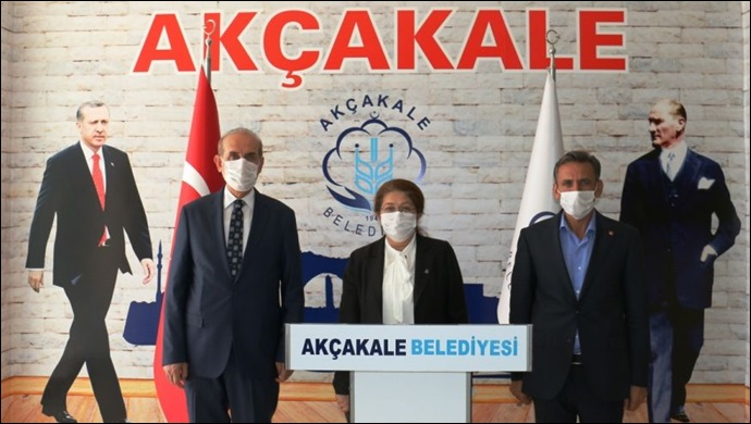 MKYK Üyesi Polat'tan Yalçınkaya'ya ziyaret