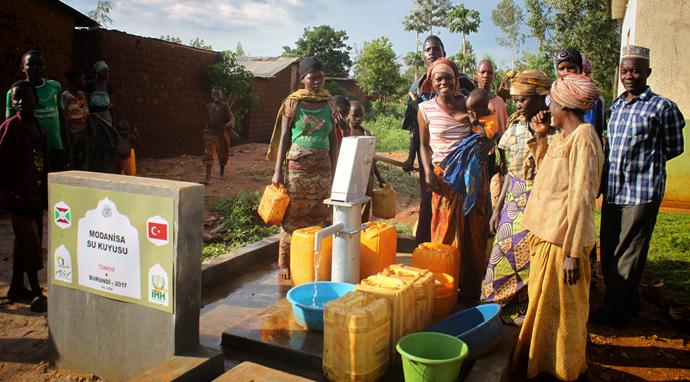 Modanisa Su Kuyuları bu kez Afrika'da Çad Ülkesinde..