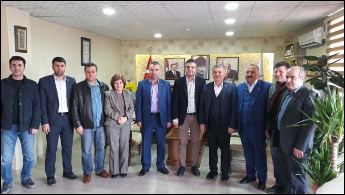 MTDF'den Mardin İl Sağlık Müdürüne Ziyaret