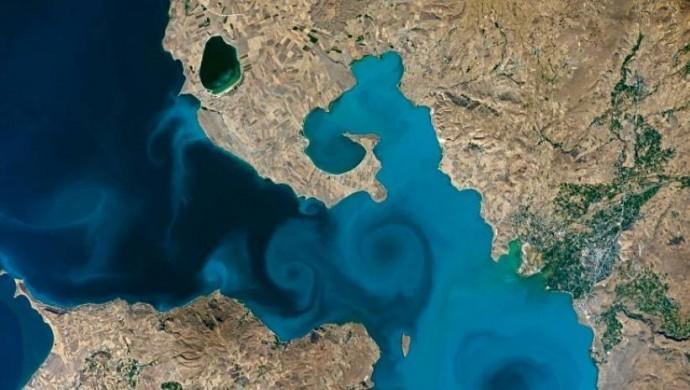 NASA yarışmasında birincilik Van Gölü fotoğrafının