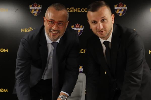 Nesine.com, Eyüpspor'un forma sırt sponsoru oldu