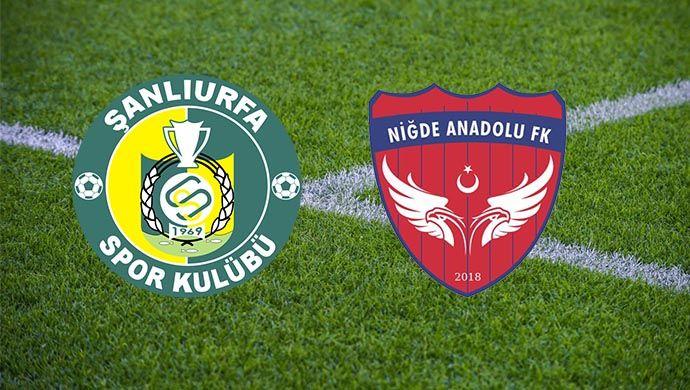 Niğde Anadolu FK - Şanlıurfaspor maçı başladı
