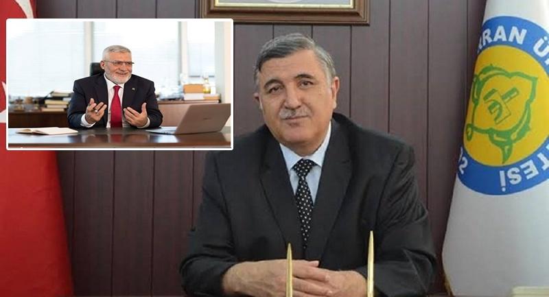 Niyazi Yanmaz'dan Rektörün Istifasına Açıklama