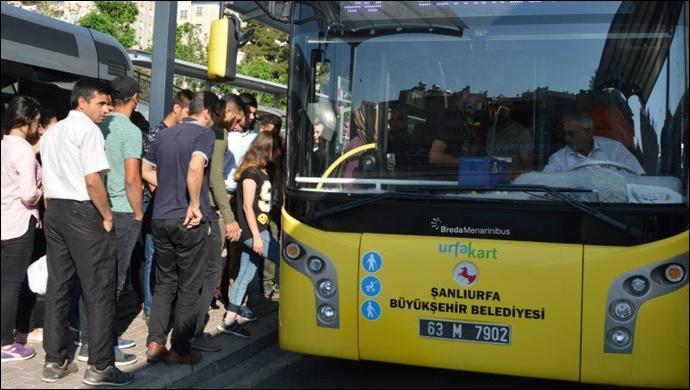 Öğrenciler bu haber size: Urfa'da ücretsiz ulaşım açıklaması