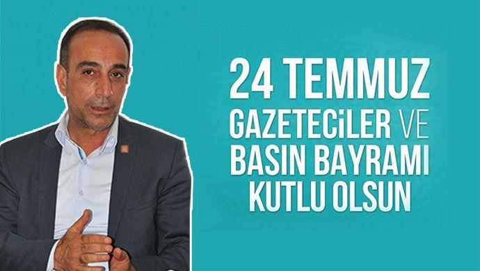Ömer Karakeçili, basın bayramını kutladı