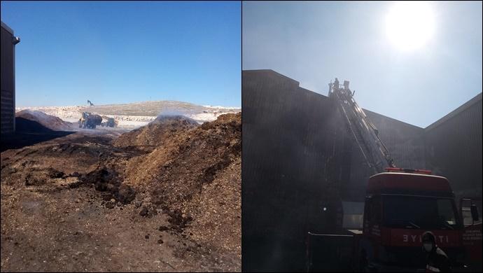 Organize Sanayi Bölgesi'nde fabrika yangını! İtfaiye müdahale etti