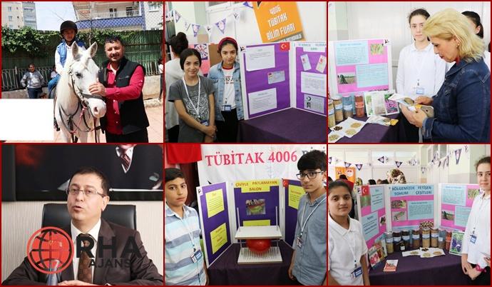 Osman Ertörer Okulunda Öğrencilerin Projeleri ve Eserleri Görücüye Çıktı