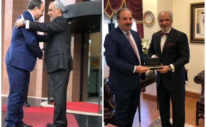 Özcan'dan Kuveyt Büyükelçisi Ghassan Al Zawavi'ye Teşekkür Ziyareti