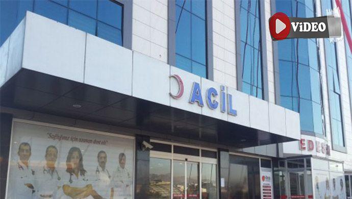 Özel Edessa Hastanesi yağmalandı
