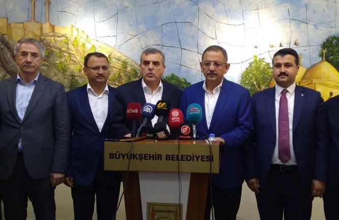 Özhaseki: Urfa'nın Sorunlarını Bakanlarla Görüşeceğiz (VİDEOLU)