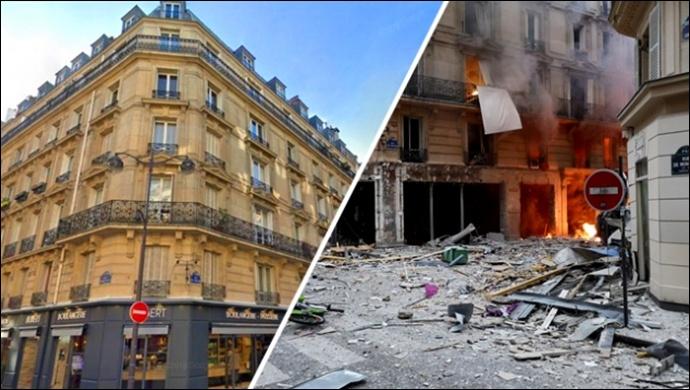 Paris'te Patlama: 9 Yaralı