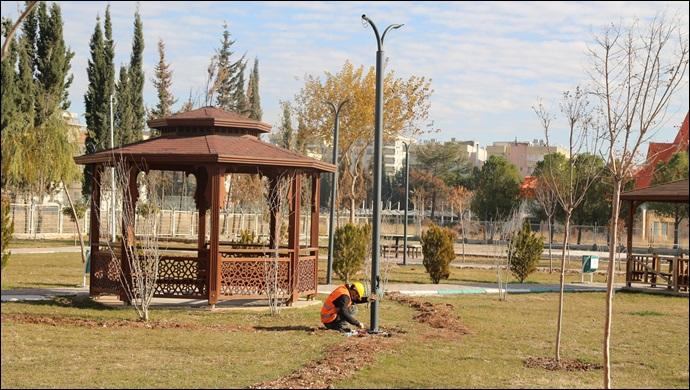 Parklar, Haliliye Belediyesi İle Güzelleşiyor-(VİDEO)