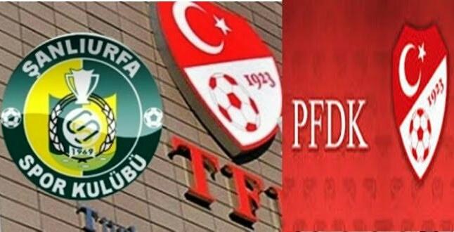 PFDK'dan Şanlıurfaspor'a ceza üstüne ceza