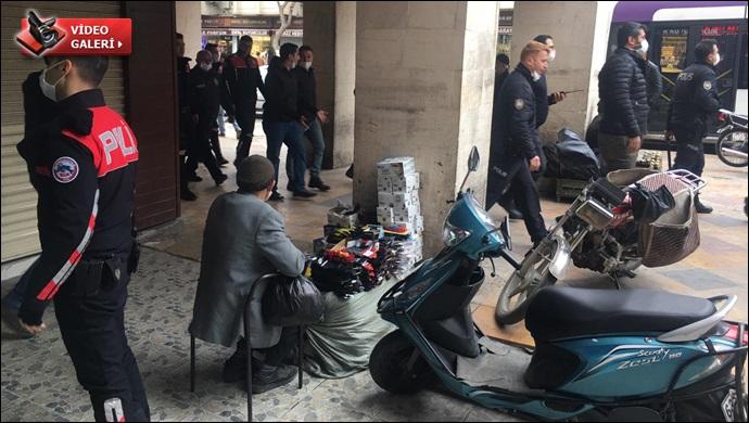 Polisten Kapaklı Pasajı'ndaki kaçak mallara operasyon! 10 kişi gözaltına alındı