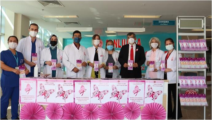 """Prof. Dr. Uzunköy, """"Meme Kanseri Erken Tanıyla Önlenebilir Ve Tedavi Edilebilir Bir Hastalıktır"""""""