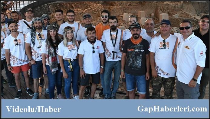 Ralliciler Göbeklitepe'ye Hayran Kaldı